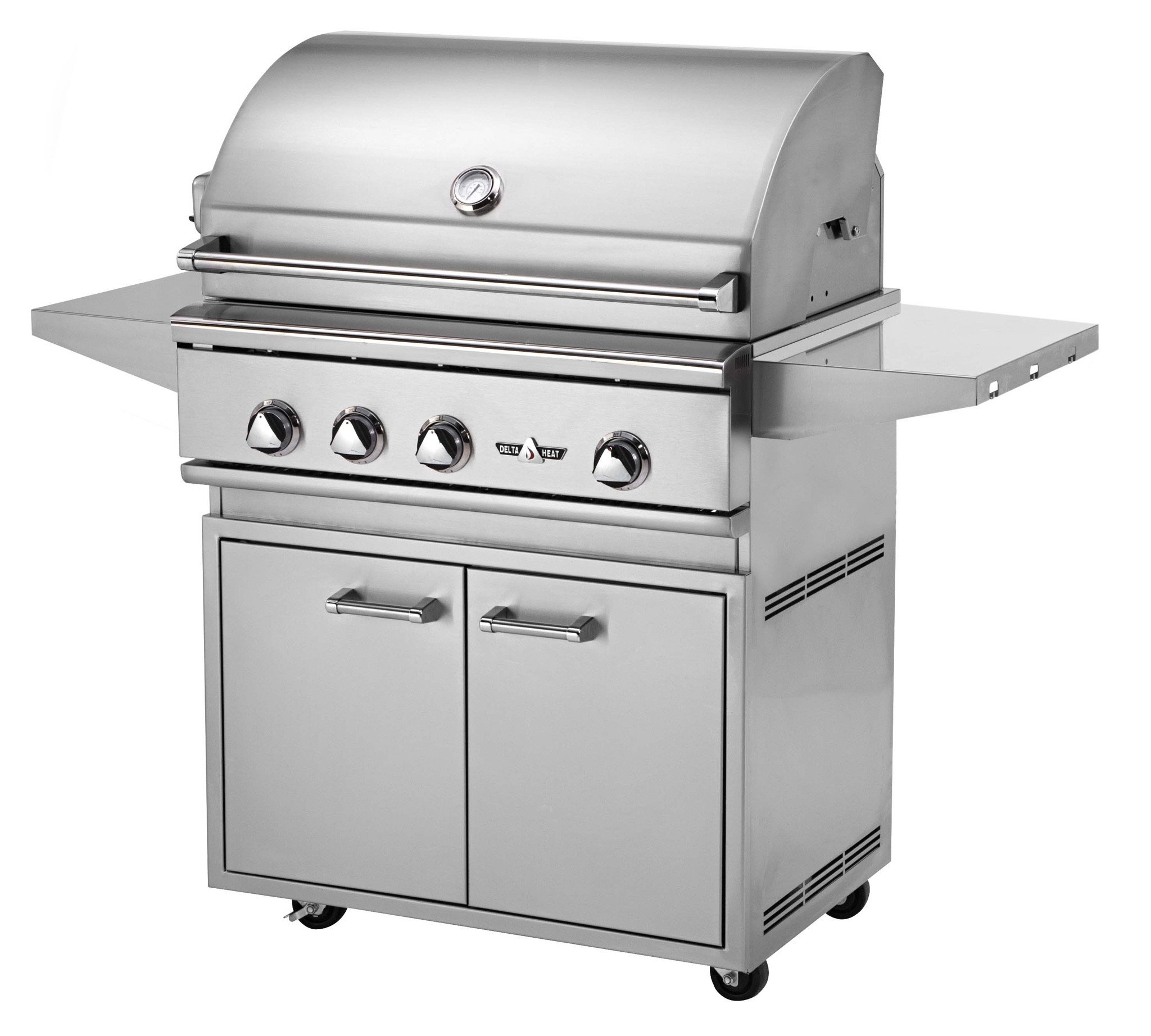 Delta Heat 32 Inch Gas Grill With Interior Lights