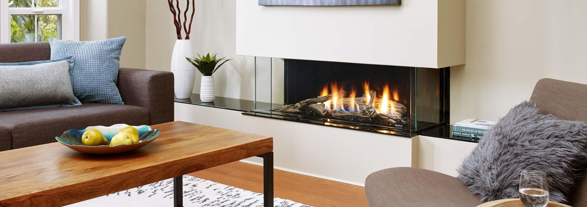 Regency City Series Bay Gas Fireplace