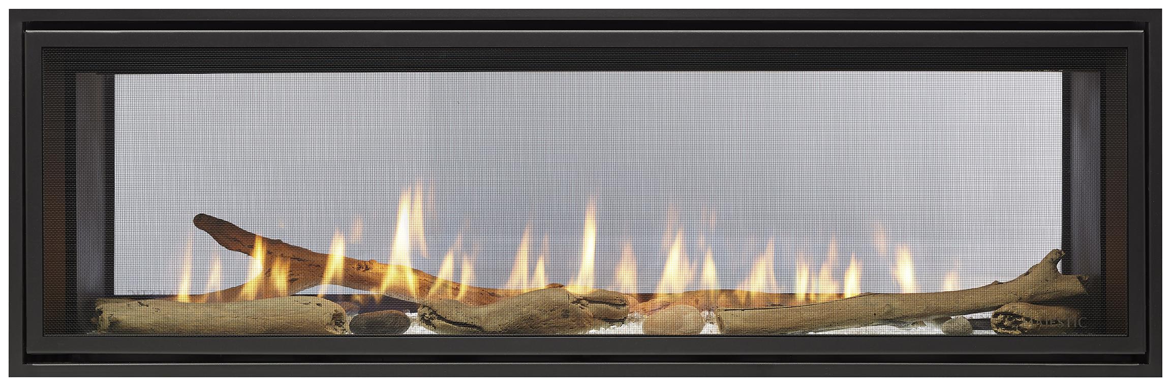 Majestic 48 Echelon Ii See Thru Direct Vent Gas Fireplace