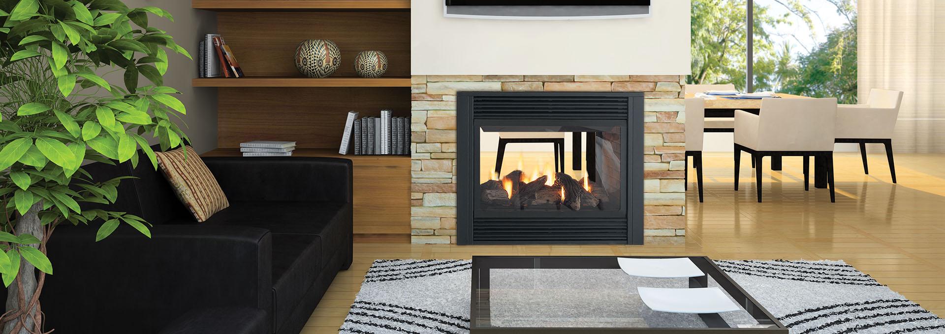 Regency Panorama See Through Direct Vent Gas Fireplace Colorado