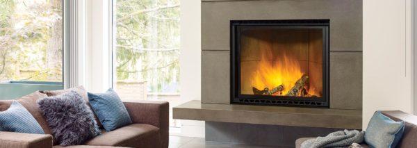 regency wood fireplace