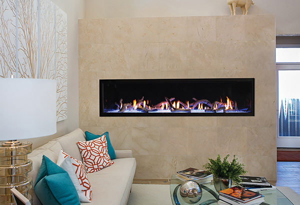 Linear Gas Fireplace >> American Hearth Boulevard 72 Linear Gas Fireplace