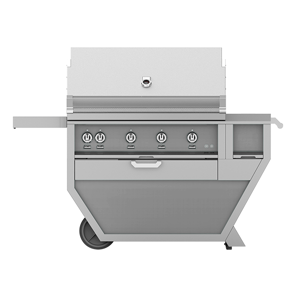 42 Hestan Outdoor Deluxe Grill With Work Top And Storage