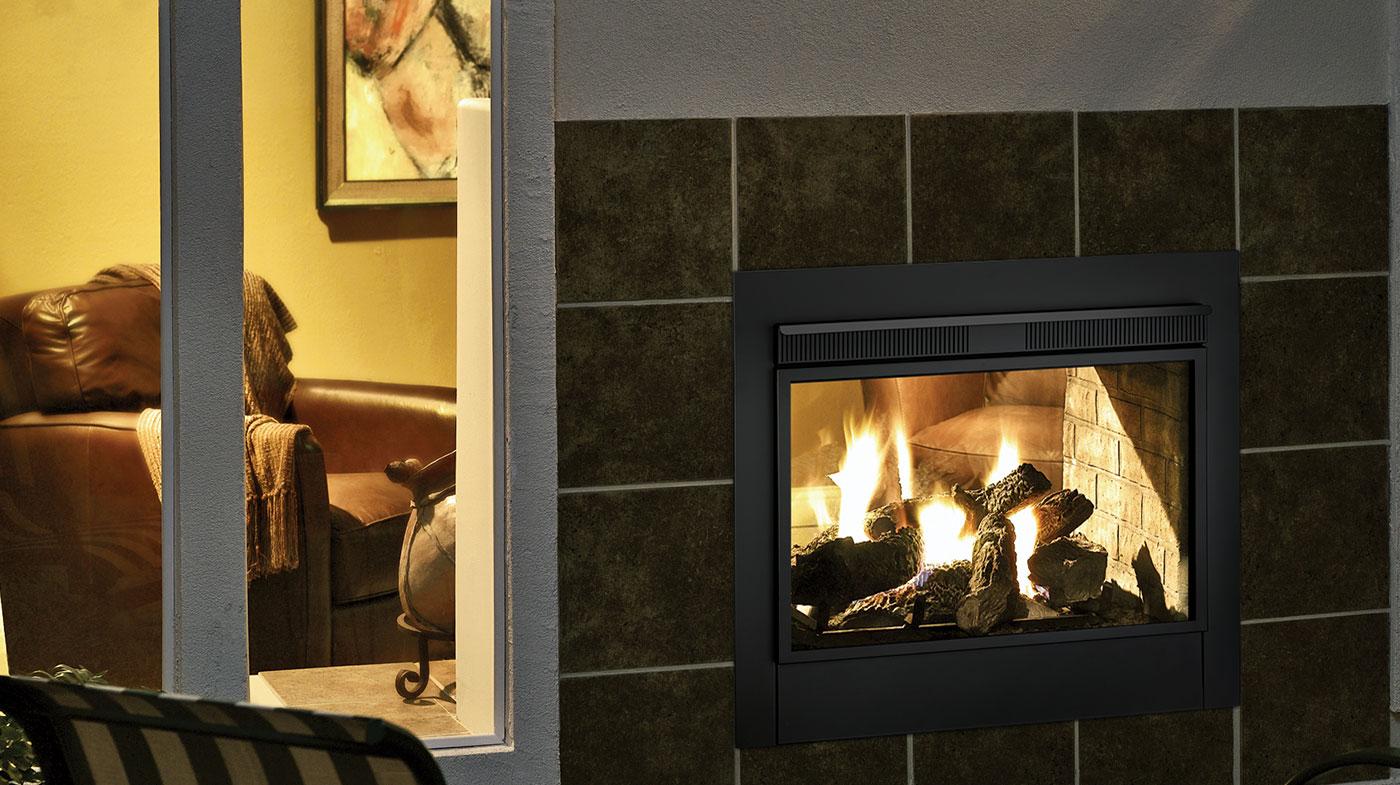 Majestic Twilight Ii Indoor Outdoor Vent Free Gas Fireplace