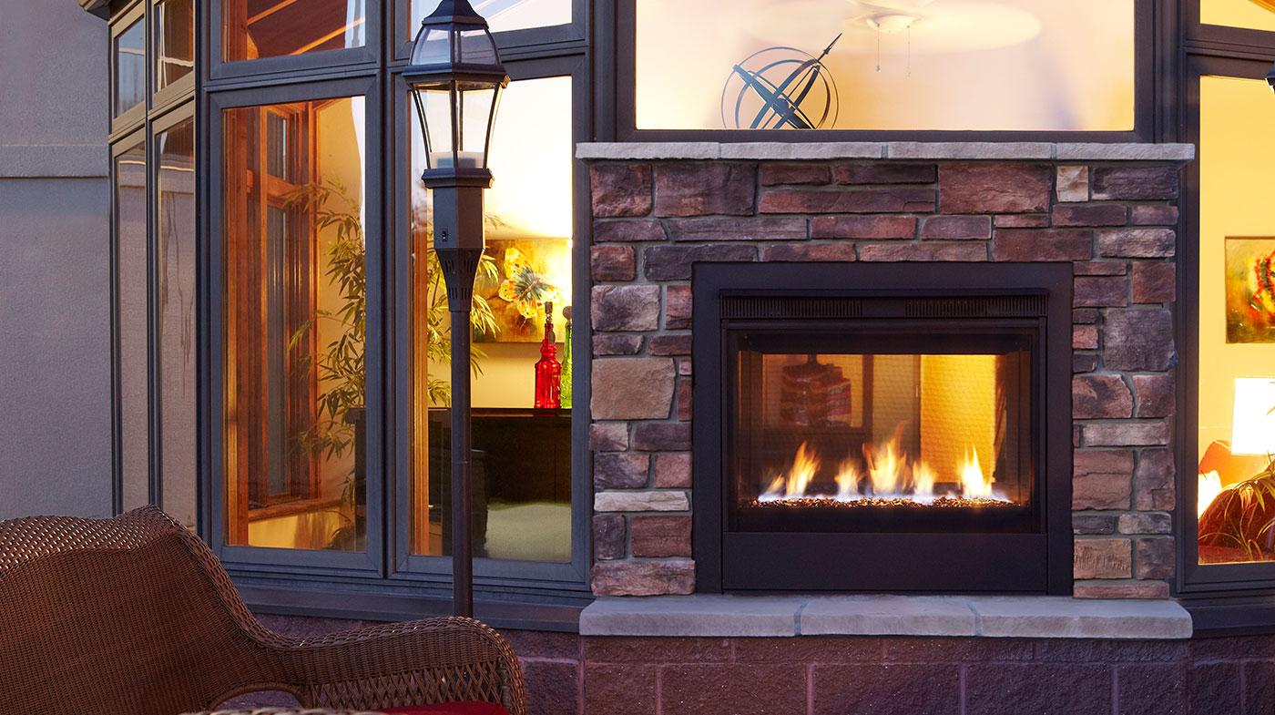 Majestic Twilight Ii Modern Indoor Outdoor Vent Free Gas