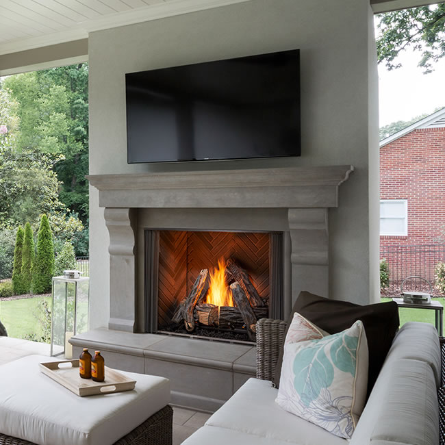 Outstanding Majestic 36 Courtyard Outdoor Fireplace Download Free Architecture Designs Philgrimeyleaguecom