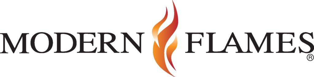 modern flames logo