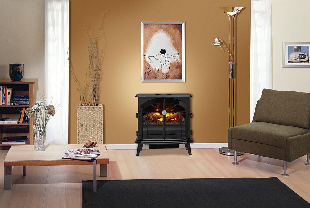 Terrific Dimplex Stockbridge Opti Myst Electric Fireplace Stove W Remote Control Os2527Gb Home Interior And Landscaping Mentranervesignezvosmurscom