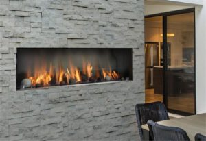 Barbara Jean Outdoor Fireplace